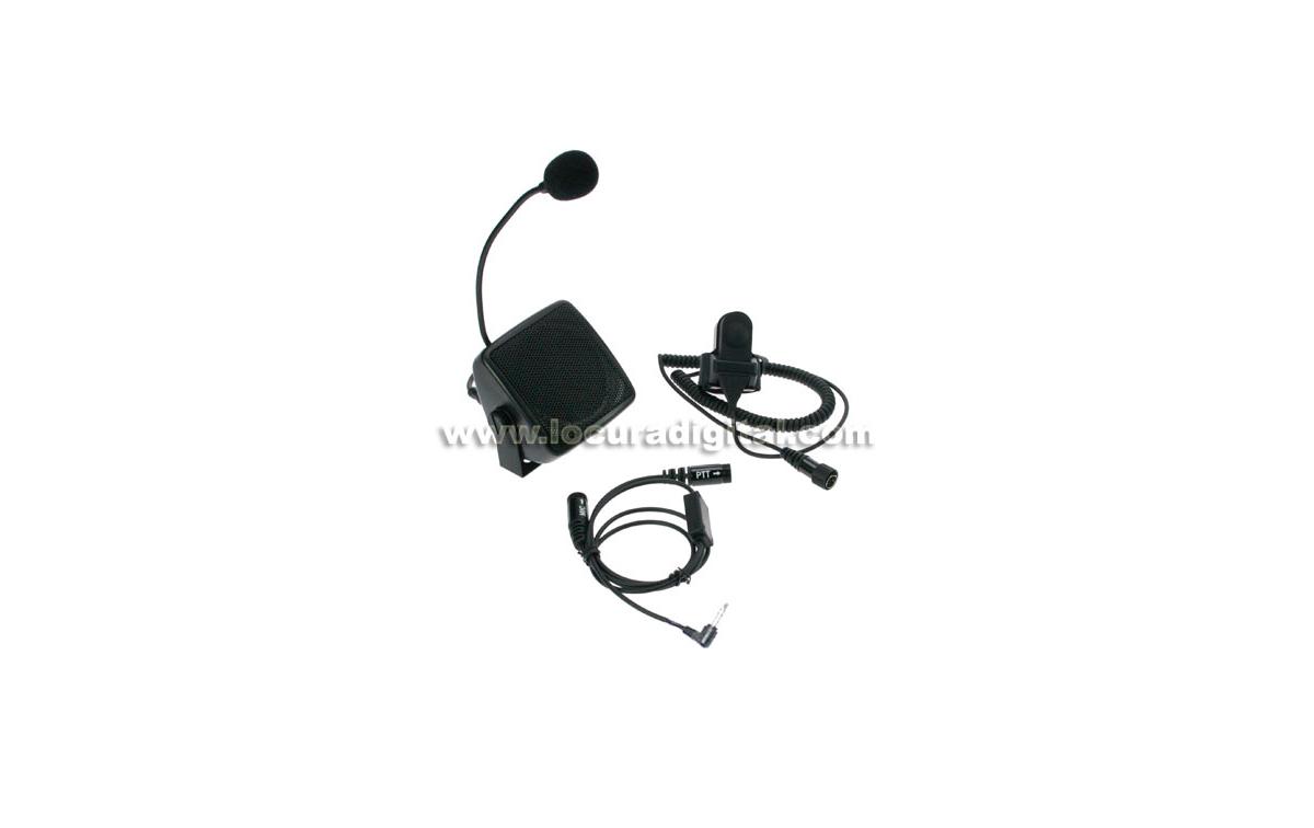 NAUZER ATC5505M2 Kit manos libres para walkies. Especial Autoescuelas - Conexión Motorola