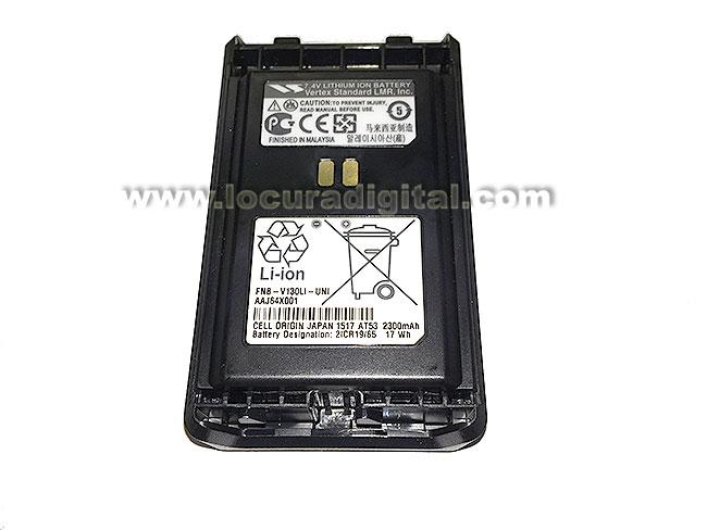 FNBV130LI - VERTEX Batería Ion Litio 7,4v 2300 mAh para VX354 (NUEVA VERSION)