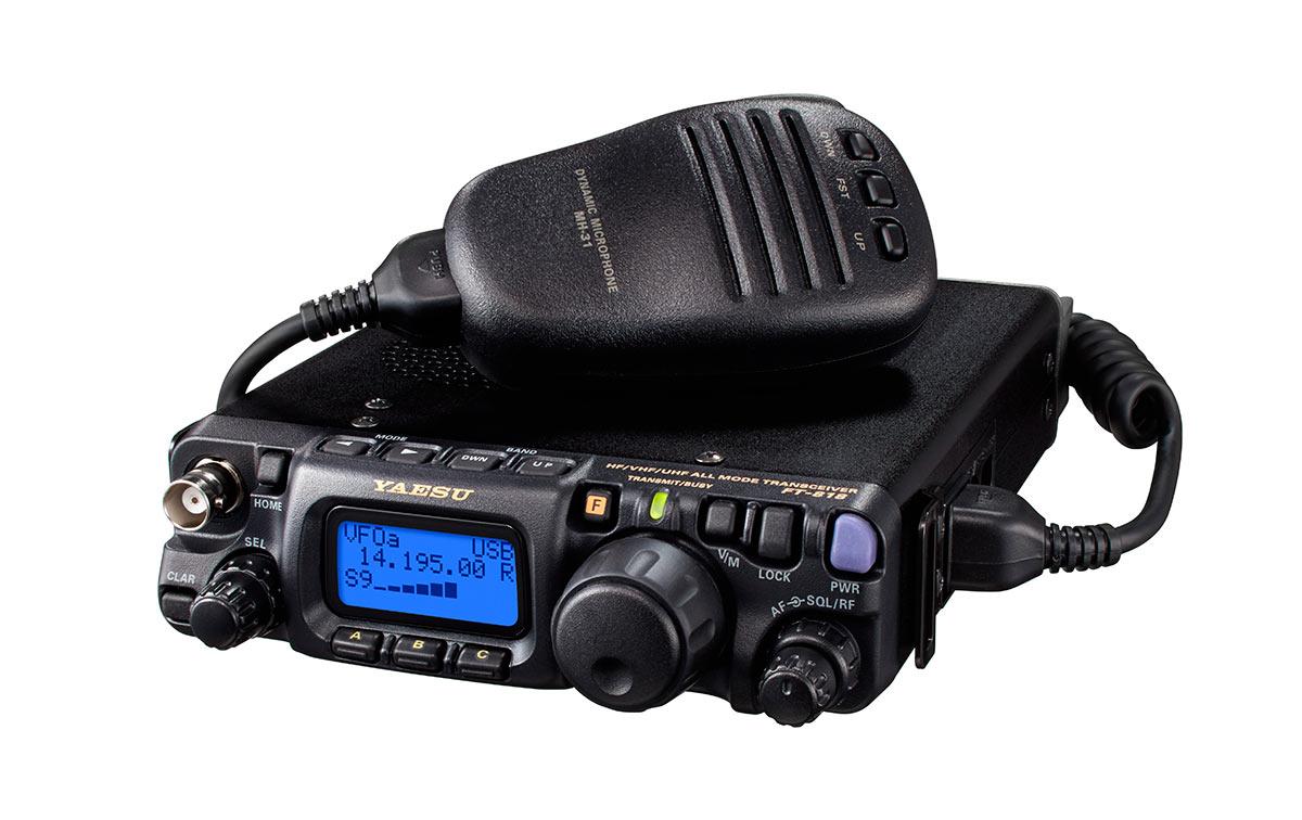 FT818 YAESU Transceptor portátil multibanda HF/VHF/UHF