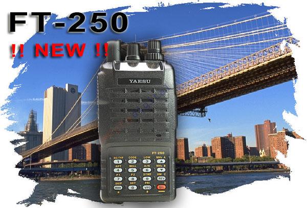 YAESU FT-250E KIT 1.  Monoband Walkie 144 mHz VHF