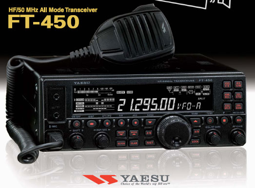 yaesu ft-450D transceiver