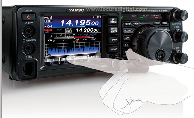 La nueva emisora Yaesu FT-991 es la pr�xima generaci�n de los equipos todo modo. Incluye todas las bandas MF/HF/VHF/UHF con C4FM
