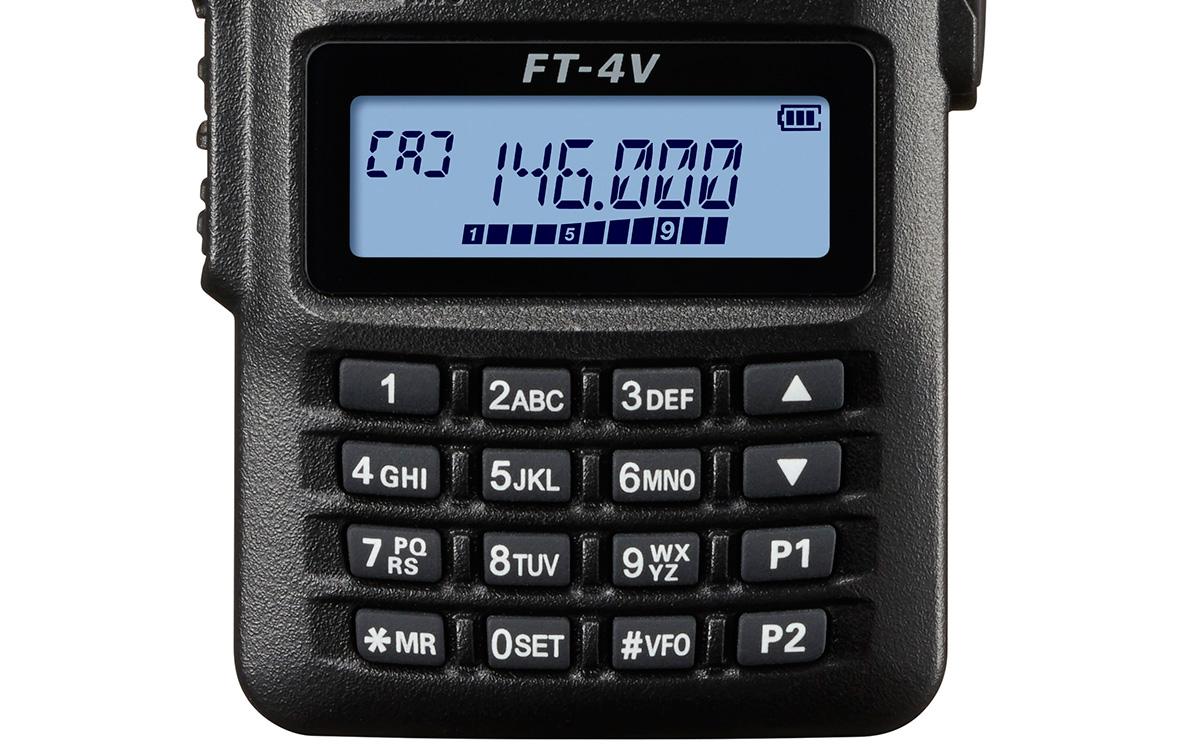 YAESU FT4V WALKIE TALKIE VHF 144- 146 Mhz potencia 5 W