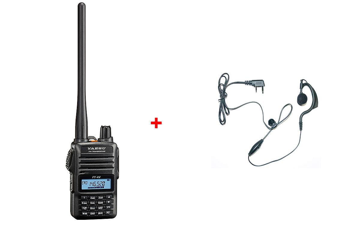 YAESU FT4VE WALKIE TALKIE VHF 144- 146 Mhz potencia 5 W