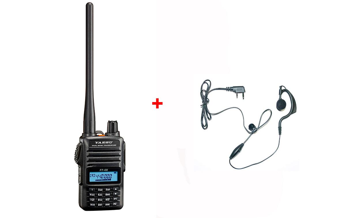 YAESU FT4XE Walkie Talkie Bibanda VHF/UHF 144- 440 Mhz
