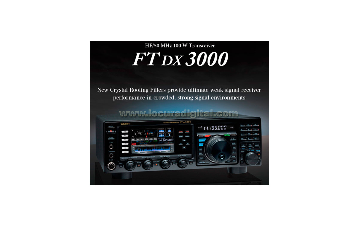 Yaesu ft dx 3000 hf 50 mhz for Ft 3000