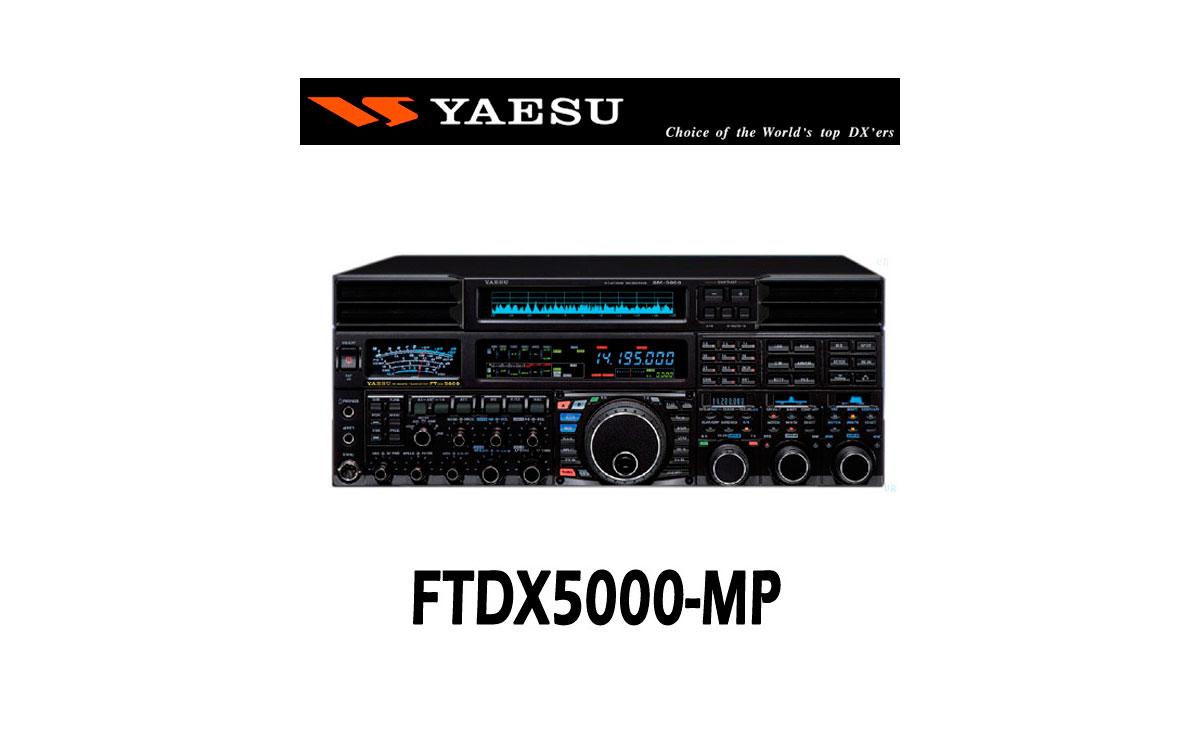 YAESU FT-DX 5000 MP 200 W HF/50 MHz. El más completo de la gama. Incluye: Station Monitor SM-5000 +