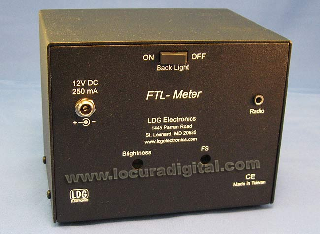 FTL LDG METER Meter Backlit Blue for YAESU FT857 FT897 AND LARGE MODEL