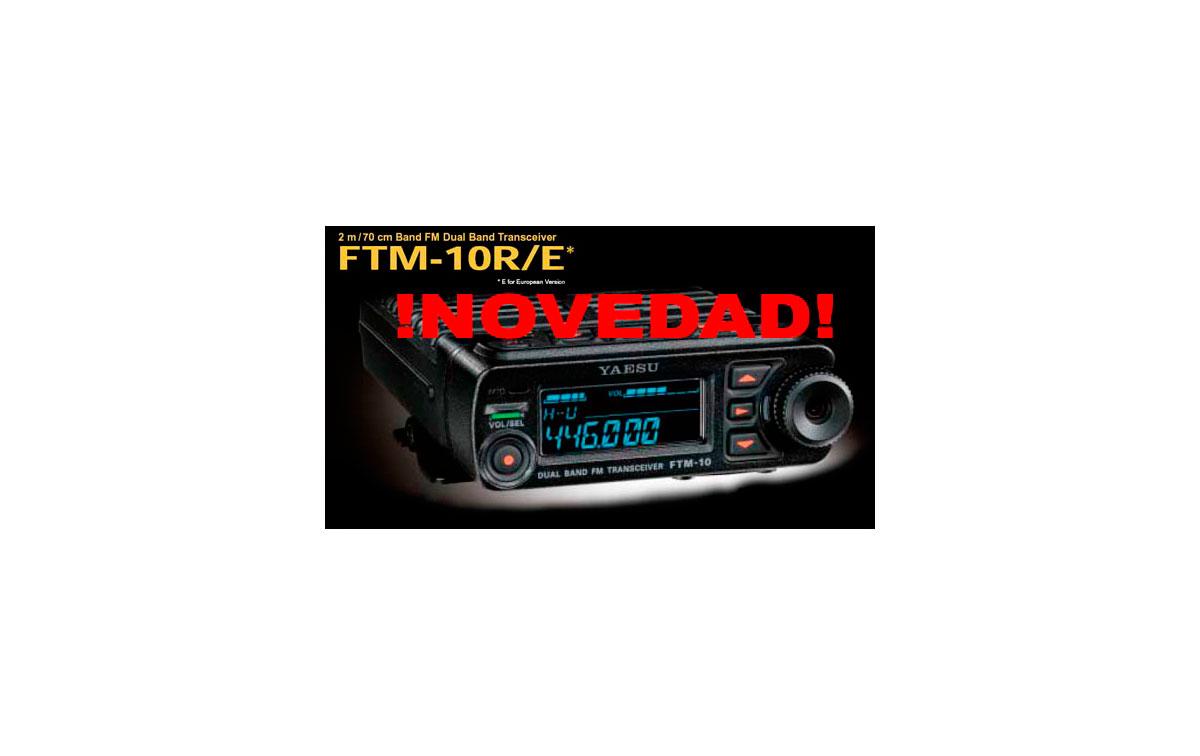 YAESU FTM 10 E EMISORA  BIBANDA VHF/UHF 144/430 MHZ  POTENCIA 50 WATIOS Y WATERPROOF SOLO CARATULA.