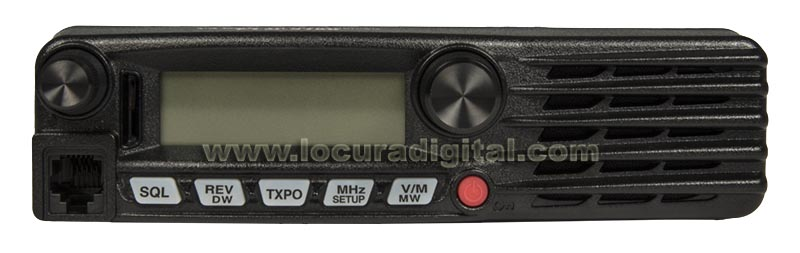 ftm3100e yaesu equipo movil amateur vhf 144 146 mhz. 65 watios