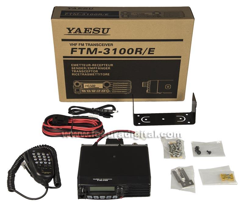 ftm3100e yaesu equipo movil amateur vhf- 144-146 mhz. 65 watios