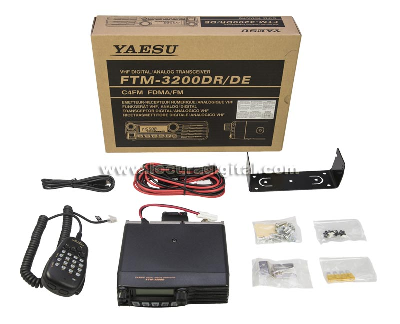 ftm3200e yaesu equipo movil amateur 144 146 mhz. 65 watios. analógico y digital c4fm