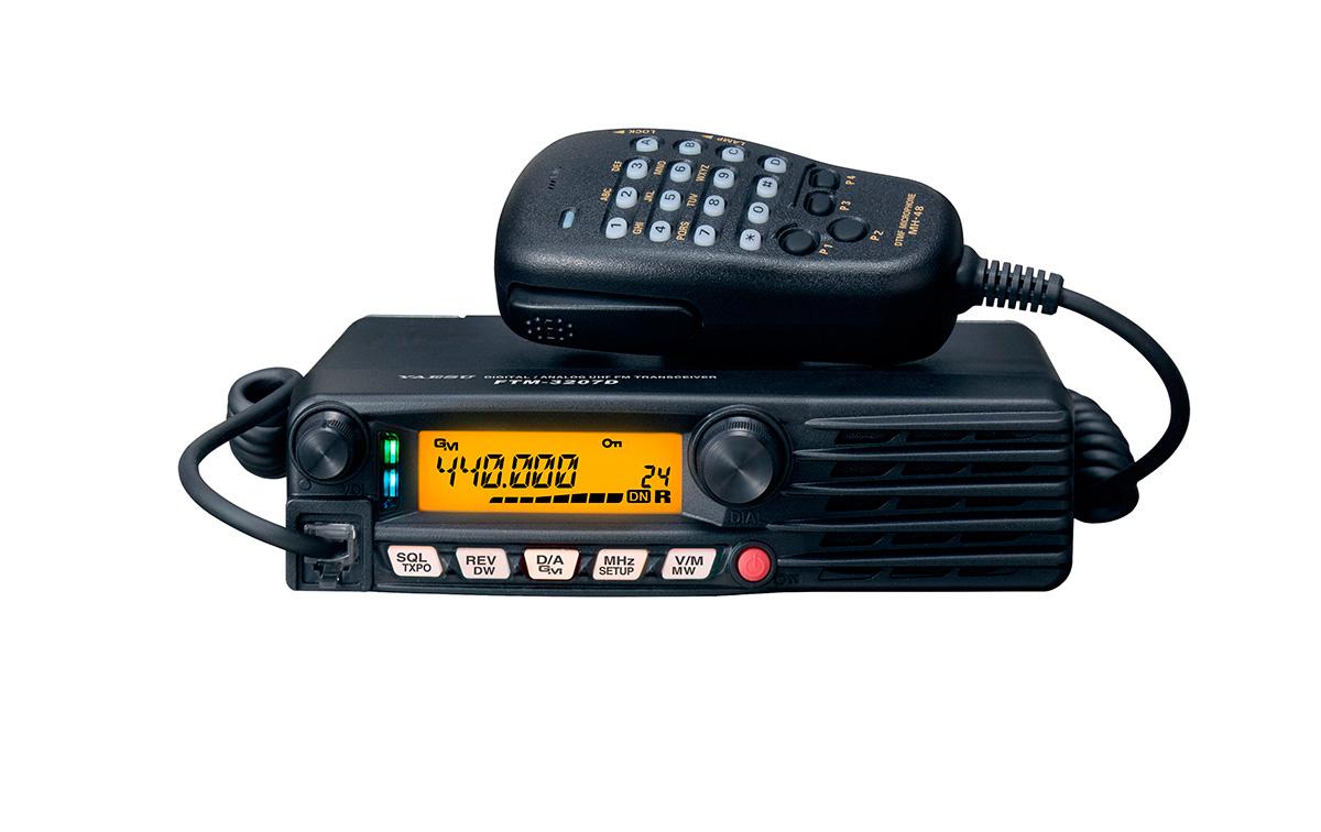Yaesu FTM-3207-DE Emisora Amateur 430-440 Mhz 55 watios. Analógico /Digital