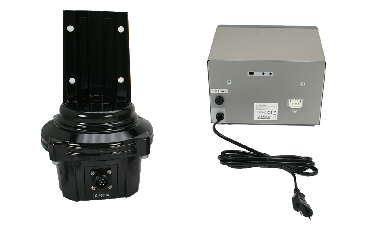 YAESU G 450 CDC Rotor Azimutal tipo torreta par de fuerza 600kg/cm