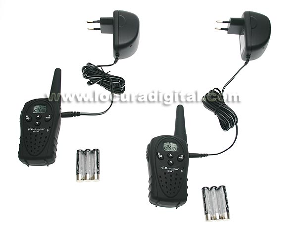 MIDLAND G5XT PACK OF 2 HANDHELDS + 2 Chargers. Free Use Handhelds. BIRTH OF A NEW PMR446 RANGE