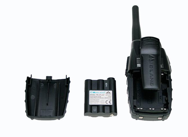MIDLAND G7E-PRO PAREJA DE WALKIES DE USO LIBRE PMR 446.Blister 2 unidades de Walkies sin necesidad de licencia. ALTAS PRESTACIONES !! NUEVO MODELO !!