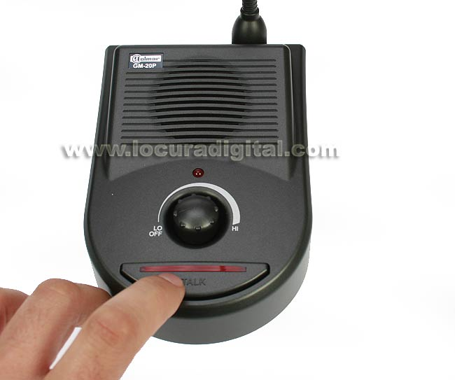 Intercomunicador de ventanilla gm20p