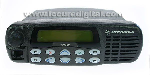 ref: 255 canaux MOTOROLA_GM360VHF POWER 1 - 25W