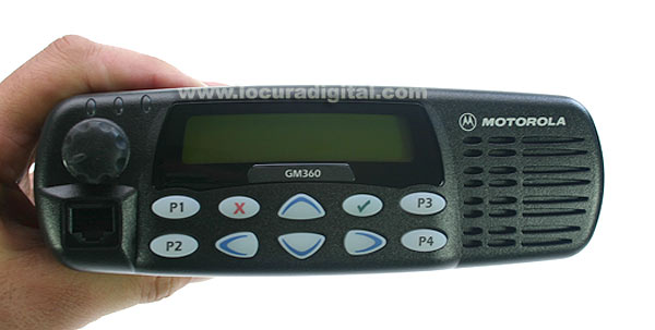 ref: 255 canais MOTOROLA_GM360VHF POWER 1 - 25W