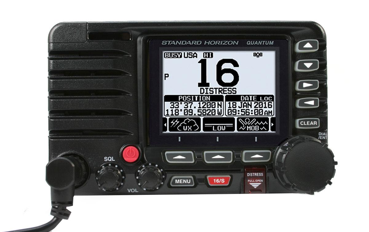STANDARD HORIZON GX-6000E BLACK. Emisora Nautica GPS. Color Negro
