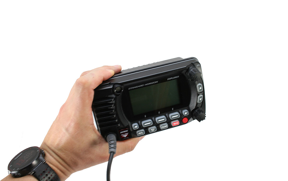 STANDARD HORIZON GX-1850-GPS-NMEA. Emisora Nautica GPS. Color Negro