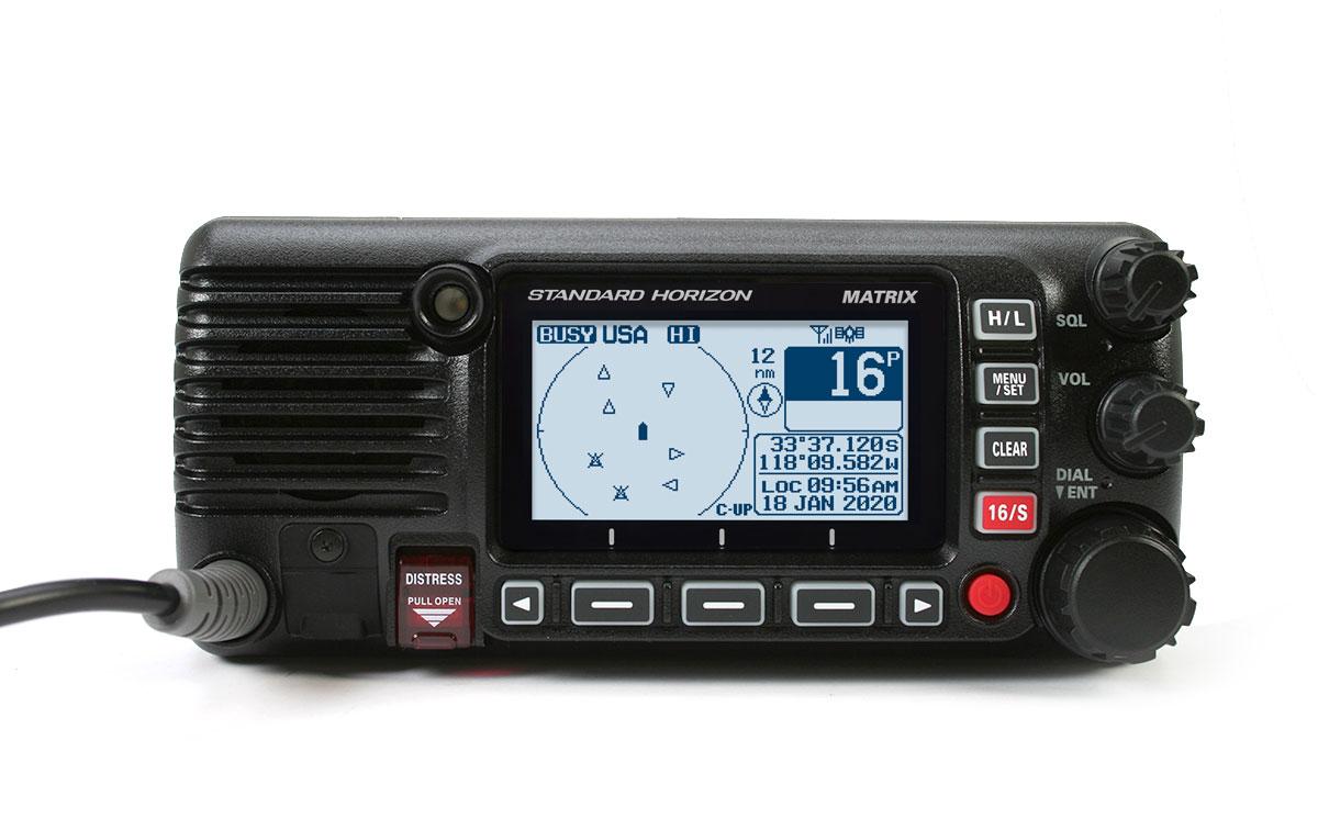 STANDARD HORIZON GX-2400-GPS-NMEA Emisora Nautica GPS. Color Negro