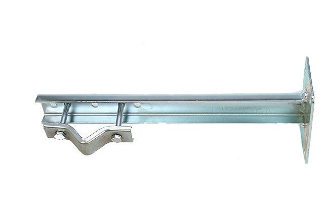 MIRMIDON HARD-350U Garra de 40 cm formato (U) sujeción con 4 tacos.