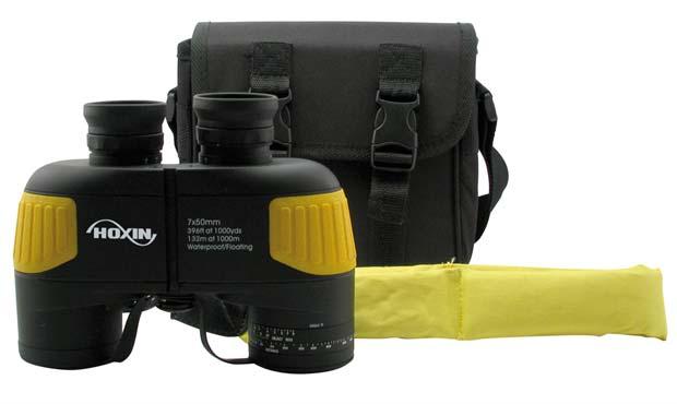 HB750FW HOXIN Binocular marino Prismáticos 7 x 50 FLOTANTE