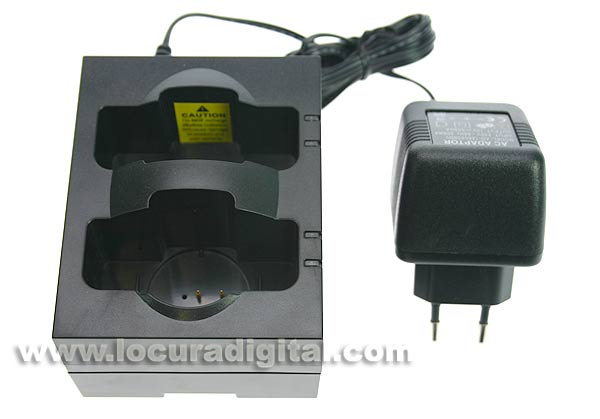 LAFAYETTE HDC7072 Dual Charger for TGS and TGS-80T-80R