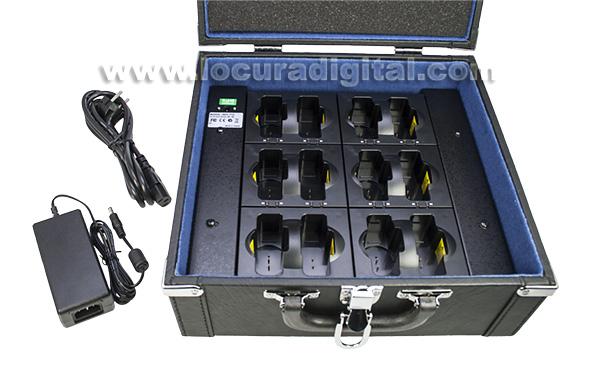 HDC712 LAFAYETTE cargador 12 unidades para TGS 80T y TGS 80R
