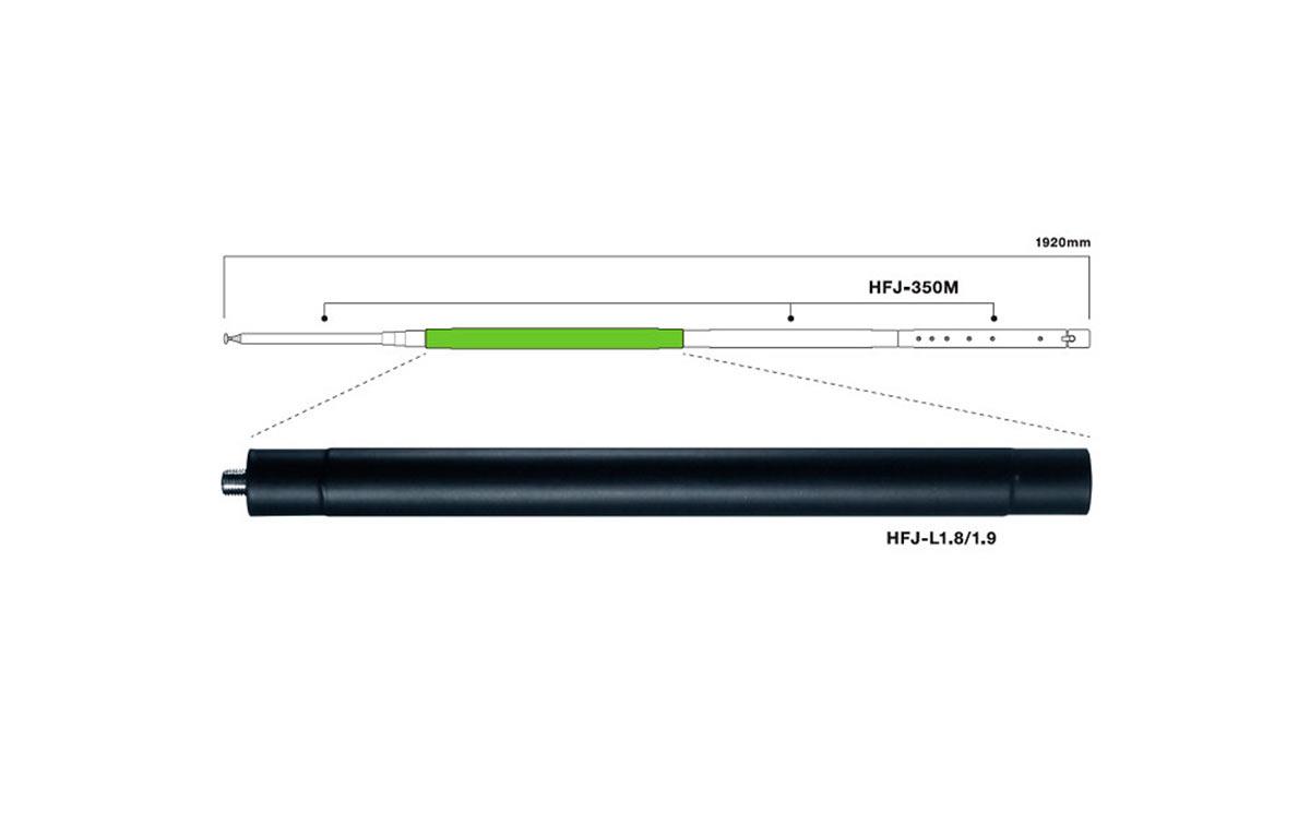 COMET HFJL18 bobina 1,8 Mhz banda 160 metros para COMET HFJ-350M