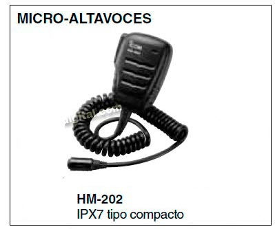 HM202 Micro altavoz de mano IPX7 para IC M 73