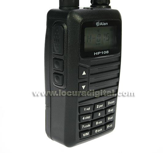 ALAN HP108 professional walkie-MIDLAND VHF 136-174 Mhz.