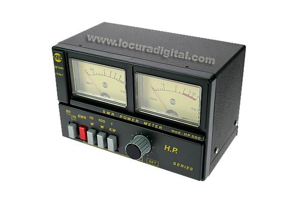 ZETAGI HP500 SWR meter / Wattmeter 3 to 200 Mhz. 2000 watts