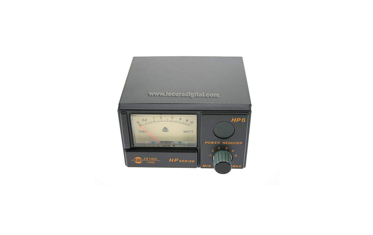 HP-6 ZETAGI Poder Redutor equipamento CB (00-30 MHz) Pot. 10W m?mo aplic?l AM-FM,