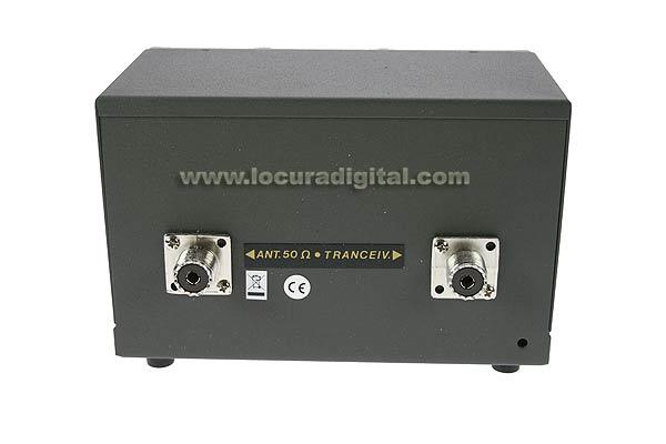Transmatch ZETAGI HP1000 (antenna coupler) + meter 26-28 Mhz. 500w