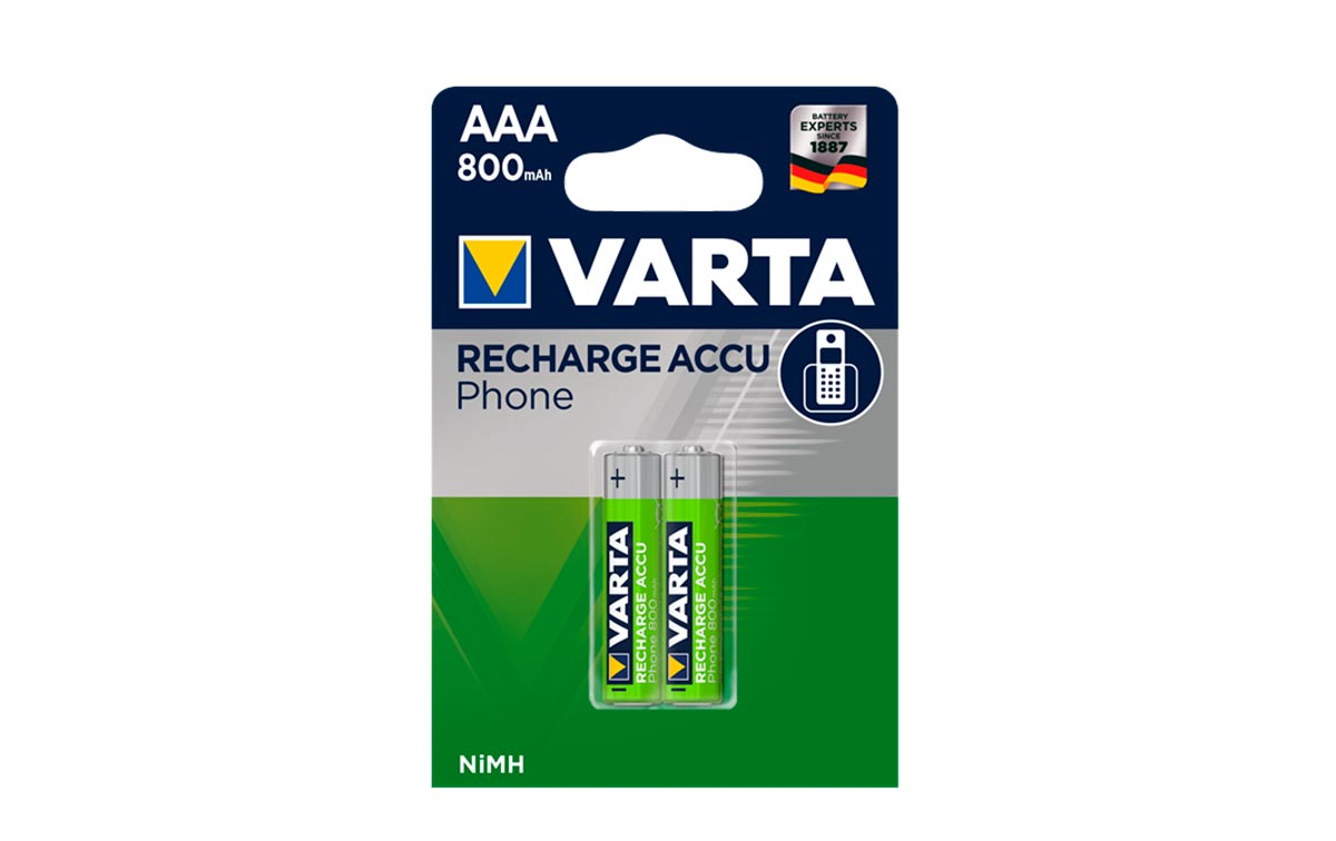 hr03aaa800r2 pilas recargables 800 mah blister 2 unidades.