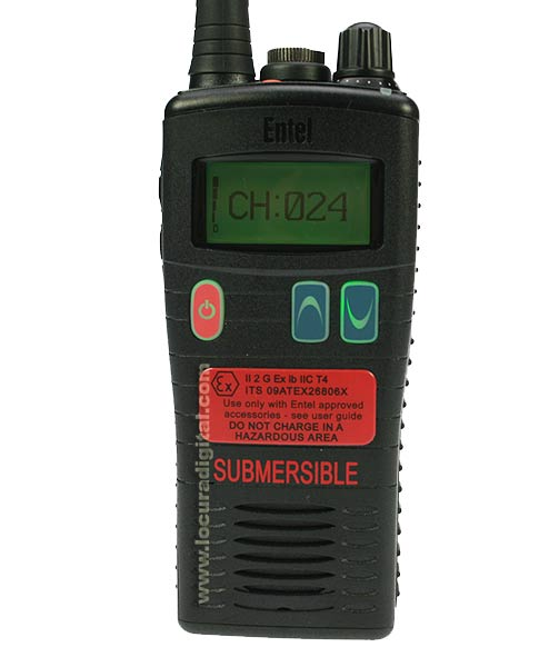 ENTEL HT953 Walkie Talkie PMR-446 ATEX Uso Livre