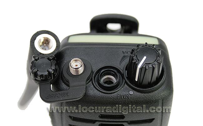 CAT460 Antena original Standard para walkie de nautica 156-162 mHz