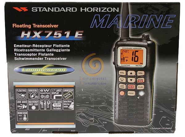 HX751E STANDARD HORIZON