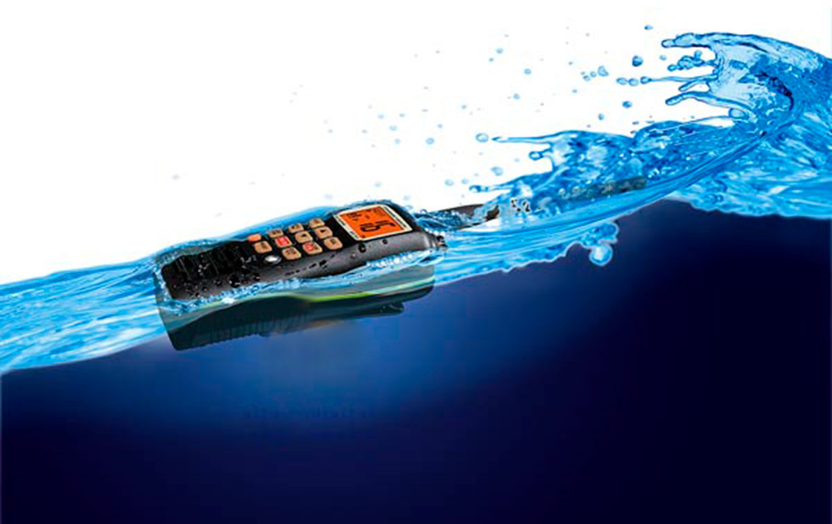 standard horizon hx-210e walkie vhf banda marina ipx7 sumergible