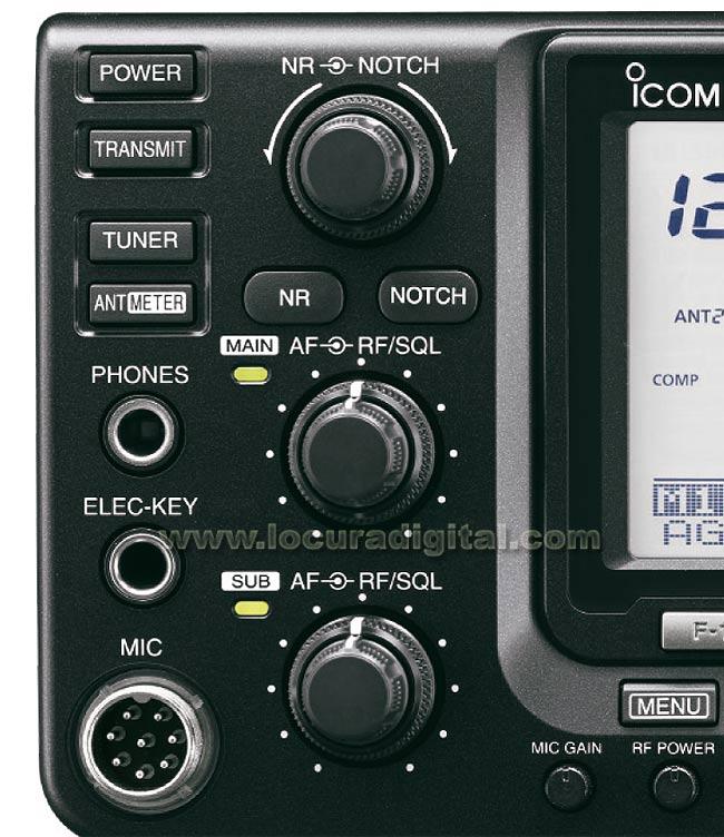 ICOM IC-9100 Transceiver HF / VHF / UHF