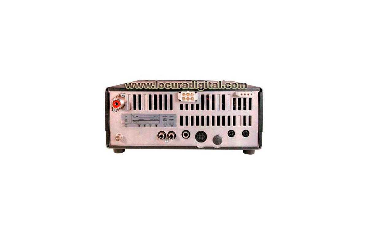 ICOM IC-718 Emisora HF TX160 / 80 / 40 / 30 / 20 / 17 / 15 /12 / 10 m.