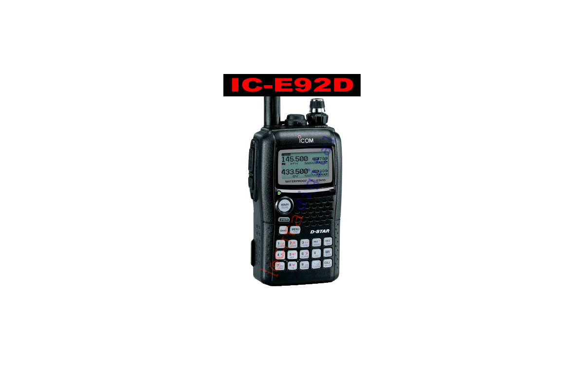ICOM IC-E92D Walkie doble banda VHF/UHF DIGITAL