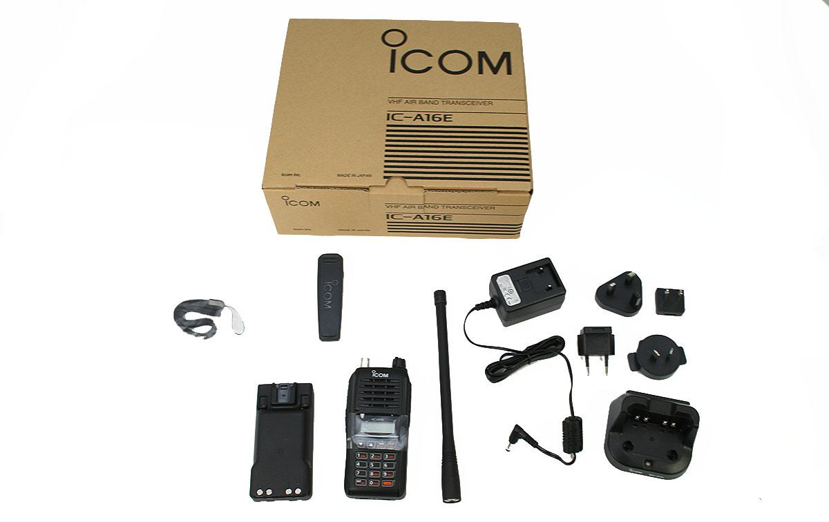 ICOM IC-A16 V22 (Versión 22) Walkie banda Aérea IP67, 6 watios