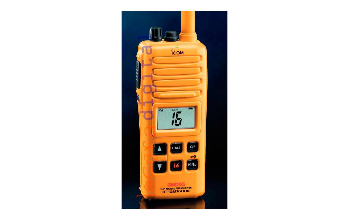 ICOM IC GM1600E WALKIE GMDSS VHF ESPECIAL  BOTES SALVAVIDAS !! HOMOLOGADO PARA BOTES  SALVAVIDAS !!