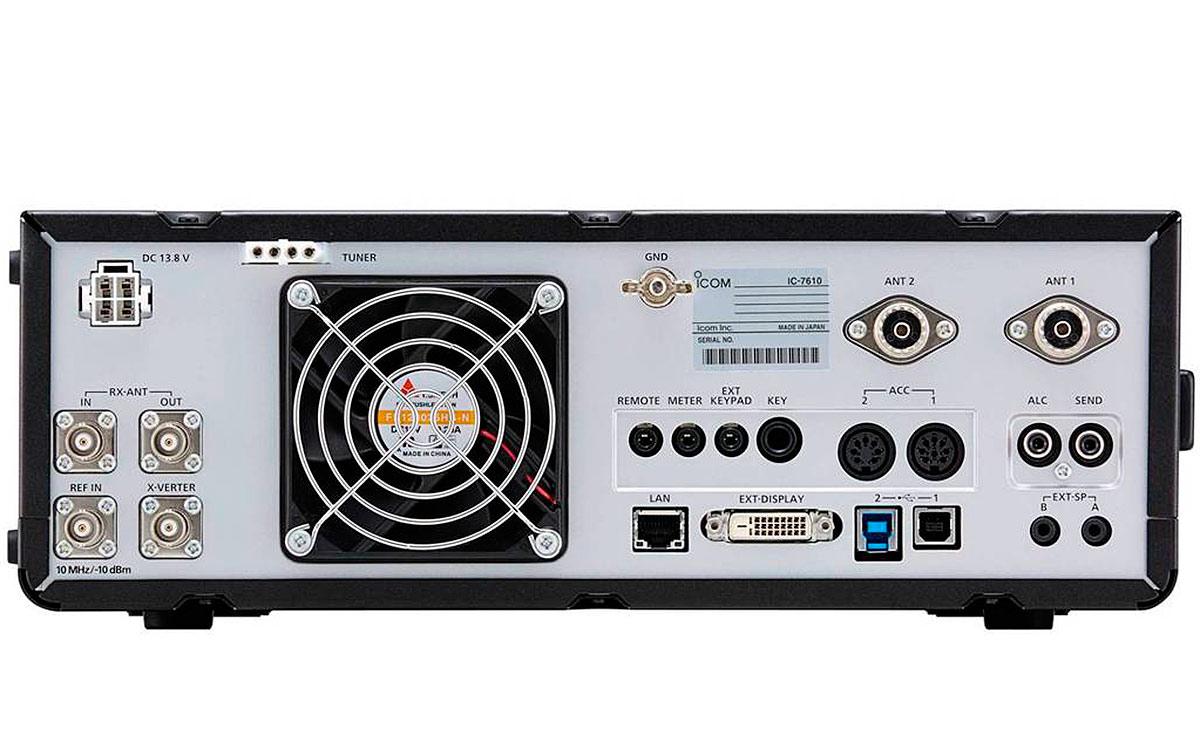 icom ic-7610 transceptor hf / 50mhz todo modo.