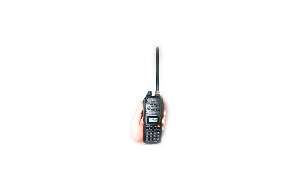 Walkie monobanda VHF, 7 vatios ICOM IC-V82