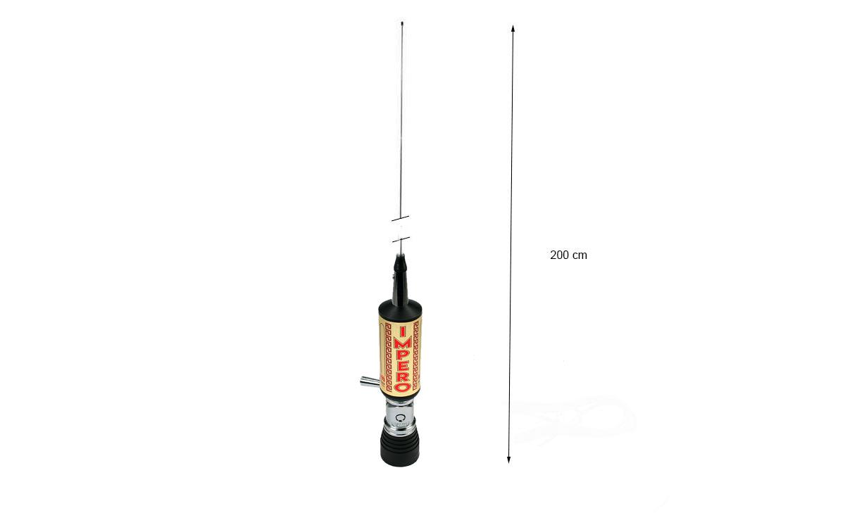LEMM IMPERO GOLD PL Antena abatible PL CB27mhz Longitud 200 cm
