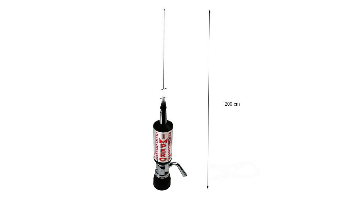 LEMM SHUTTLE 60001PL Antena abatible PL CB27mhz Longitud 200 cm
